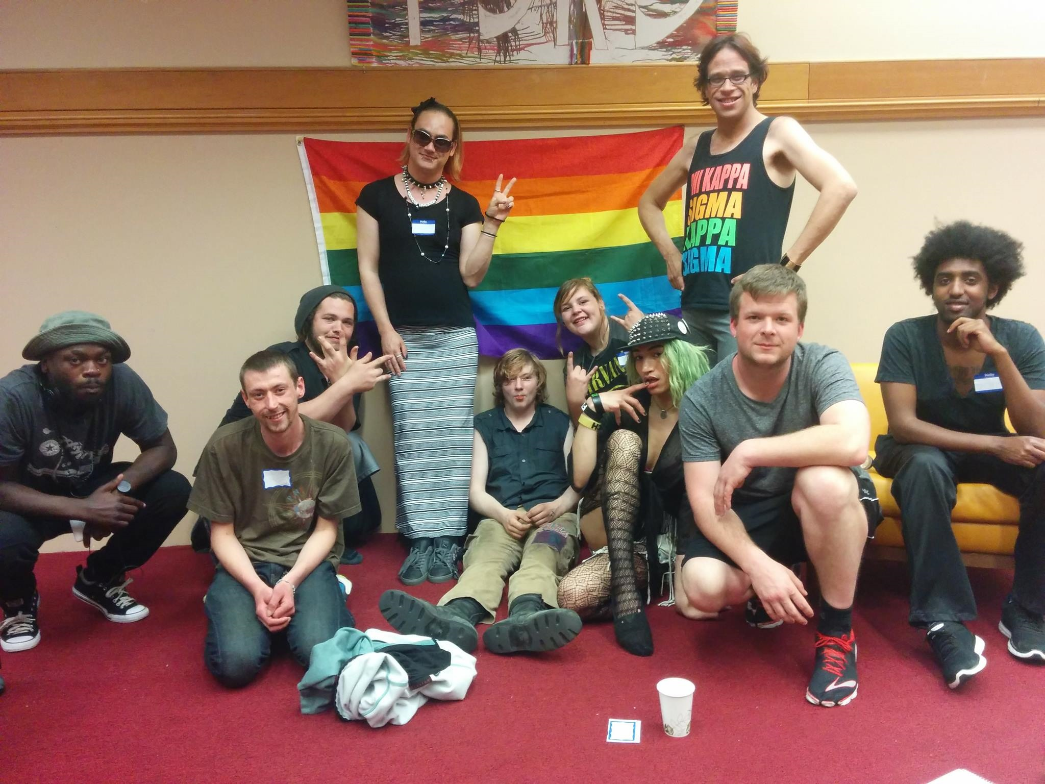 Worq It Out: An LGBTQ Support Group